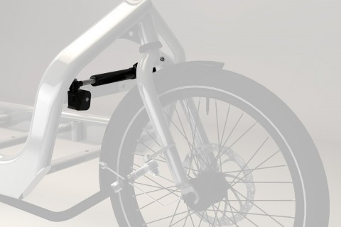 larry vs harry bullitt cargo bike damper arm